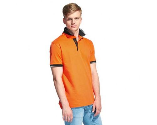 Мужская рубашка поло 04C StanContrast