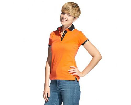 Женская рубашка поло 04CW StanContrastWomen