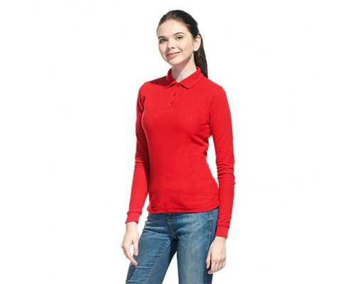 Женская рубашка поло с длинным рукавом 04SW StanPoloWomen