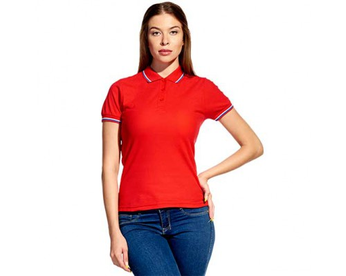 Женская рубашка поло 04WRUS StanRussianWomen