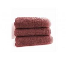 Махровое полотенце для рук 40х70 Шоколад (набор 3 шт)