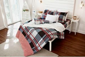 """Комплект постельного белья из фланели """"Лондон"""" 1,5 спальное"""